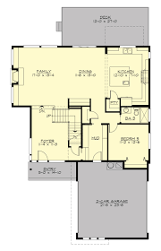 contemporary style house plan 5 beds 3 00 baths 3104 sq ft plan