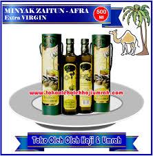 Minyak Zaitun Afra minyak zaitun afra 500 ml toko oleh oleh haji