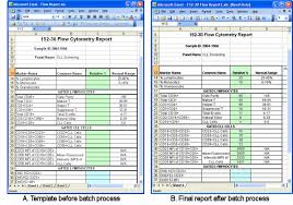 Microsoft Excel Report Templates Excel Report Template Free Business Template