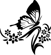 236 best silhouettes butterfly silhouettes images on