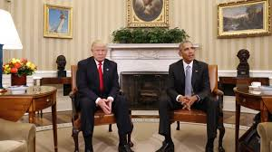 What Desk Is Trump Using by President Elect Donald Trump Calls President Obama U0027very Fine Man