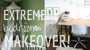room transformation extreme bedroom makeover full room transformation youtube