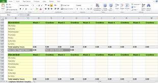 Timesheet Template Excel Blank Employee Timesheet Template Excel Tmp