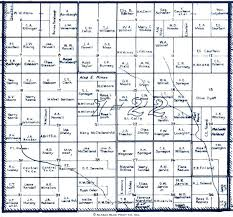 Blank Concept Map by 1935 Norton County Map