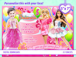 barbie birthday party invitations u2013 bagvania free printable