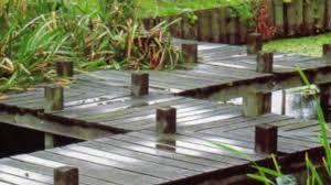 diy build japanese garden bridge youtube