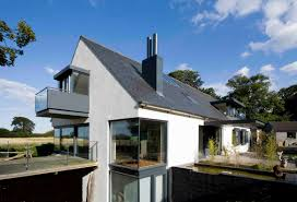 Modern Dormer Photos Hgtv Modern Home With Curved Wall And Pitched Roof Loversiq