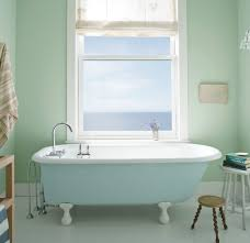 color ideas for bathroom walls wall color is solitude benjamin mid tone blue gray ideas for