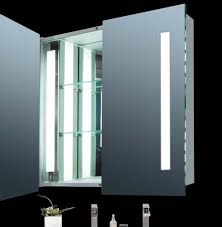 Lighted Bathroom Cabinet Magnificent Ideas For Lighted Medicine Cabinets Design Interior