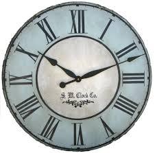 large blue wall clock for inspiration u2013 wall clocks