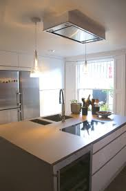 kitchen island extractor fans kitchen simple designed extractor combined with tiled amazing