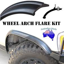 nissan jeep 45mm flexible rubber wheel arch flares flexi toyota nissan jeep