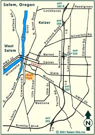 map of oregon house map to salem oregon fair