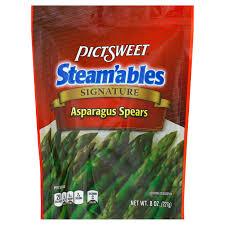 pictsweet steam u0027ables asparagus spears shop prepared vegetables