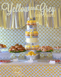 baby shower colors yellow and grey baby shower design dazzle