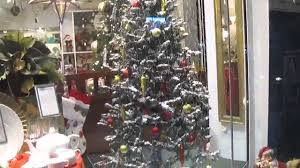 Snow Flocking For Christmas Trees by Christmas Tree With Snow Youtube