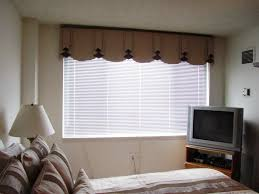 bay windows using yellow curtains and valances different types