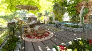 the oasis tropical playerhome at skyrim nexus mods and community