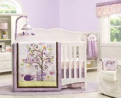 Purple Nursery Decor Interesting Owl Nursery Decor Owl Baby Crib Mobile Quilted Purple