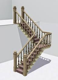 L Shaped Stairs Design L Shaped Stairs Beyond Sims