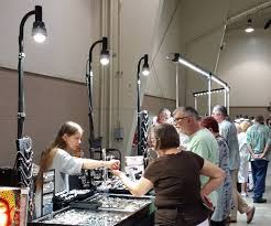 outdoor craft show lighting convention expo booth lighting portable led display light