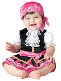 ted costume spirit halloween amazon com incharacter baby u0027s pretty little pirate costume