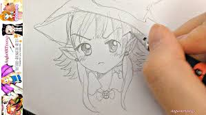 halloween anime pics drawing anime characters real time halloween special youtube