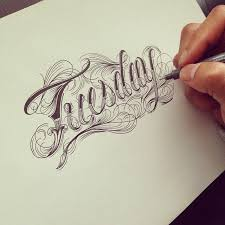 25 best tatoo lettering ideas on pinterest free hand fonts