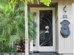 Aluminum Exterior Door Use Your Aluminum Screen Door To Maximize Curb Appeal