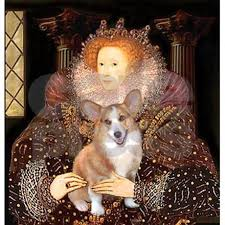 the queen u0027s corgi tile coaster by masterpiecedogs