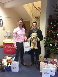 apollo supports salvation army christmas present appeal