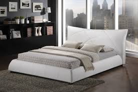 White King Platform Bed Modern King Size Platform Bedroom Sets Excellent White