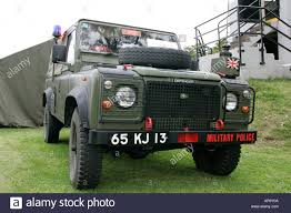 land rover military defender british military mp police land rover at grey point fort helens