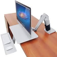 Ergotron Sit Stand Desk Ergotron Workfit A Sit Stand Workstation For Apple Workfits