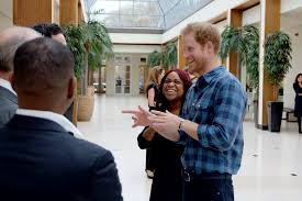 prince harry wears bracelet he shares with girlfriend meghan markle