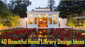 40 beautiful home library design ideas youtube