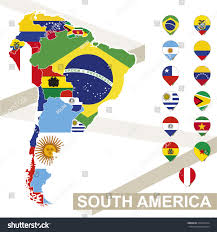 Blank Map Of North And South America by South America Map Map Of South America South America South Map Of