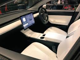 tesla model 3 interior seating tesla model 3 mania 1 year and 400k reservations later