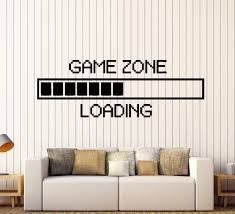 compare prices on wall stickers gaming online shopping buy low game zone computer gaming wall stickers vinyl wall sticker decor loading video game wall tattoo removable