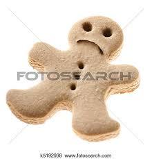 clipart sad gingerbread man clipground