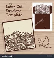 gate fold wedding invitation laser cut card by narisaridigitalart