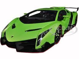 lamborghini veneno model car lamborghini veneno green 1 18 diecast model car autoart 74509