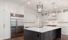 white kitchen cabinets with colored island two tone kitchen cabinets ideas designs colors pictures