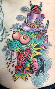 psycho tattoo tattoo life map
