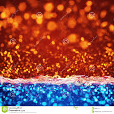 orange blue lights abstract background stock illustration image