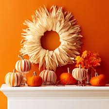 6 easy corn husk fall decorations midwest living