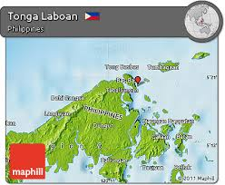 tonga map free physical map of tonga laboan
