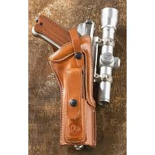 leather holsteras iii scoped holster an american beauty ruger mk