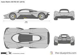 the blueprints com vector drawing aston martin am rb 001