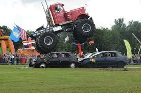 fire trucks monster truck stunt thousands flock to preston park vintage vehicle show gazette live